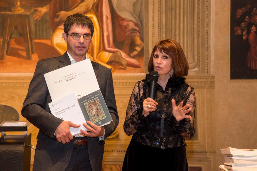 Mascialino Rita premia Cosimo Pirisi